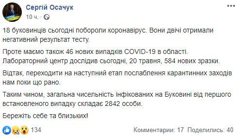 Одна з областей України відмовилася пом'якшувати карантин: подробиці