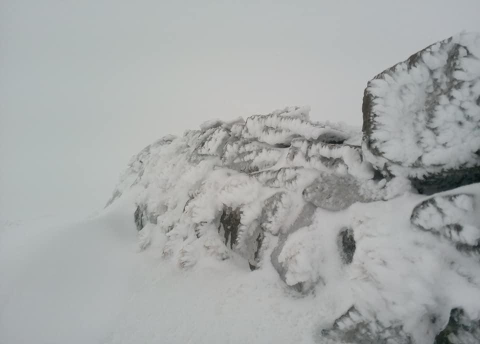 Карпати засипало снігом у перший день літа: вражаючі фото