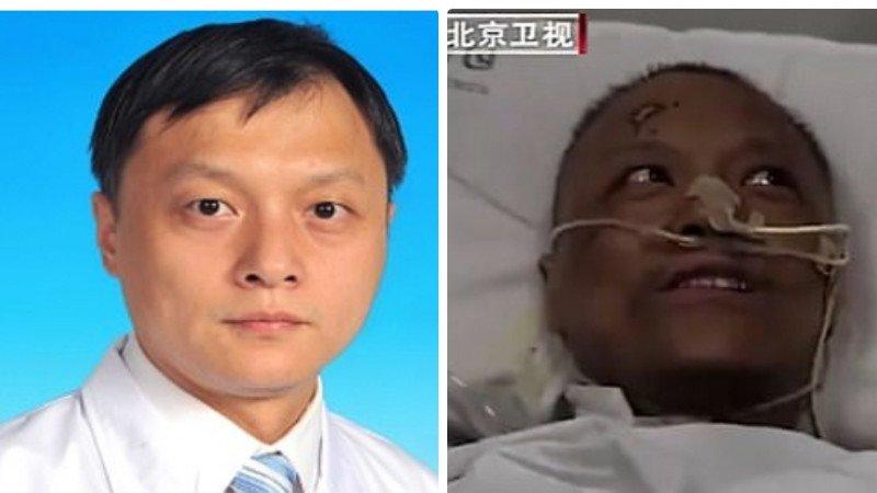 В Китае умер врач, кожа которого почернела из-за коронавируса
