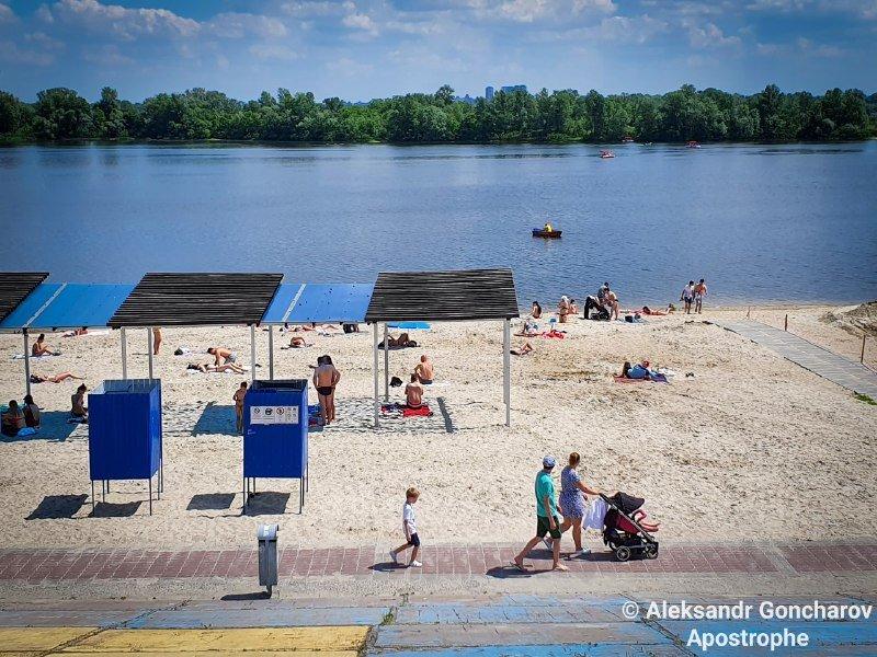 Эпидемия — не помеха: в Украине стартовал пляжный сезон