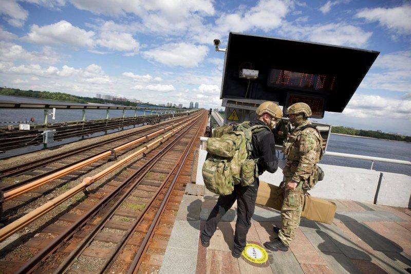 Минирование моста Метро: полиция задержала преступника