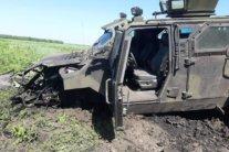 На Донбассе подорвался автомобиль ВСУ, много раненых