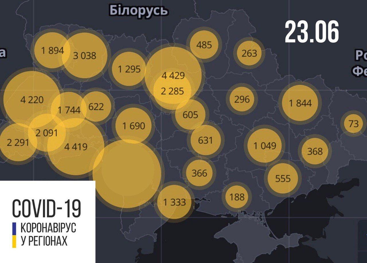 COVID-19 атакує Україну з новою силою: статистика МОЗ