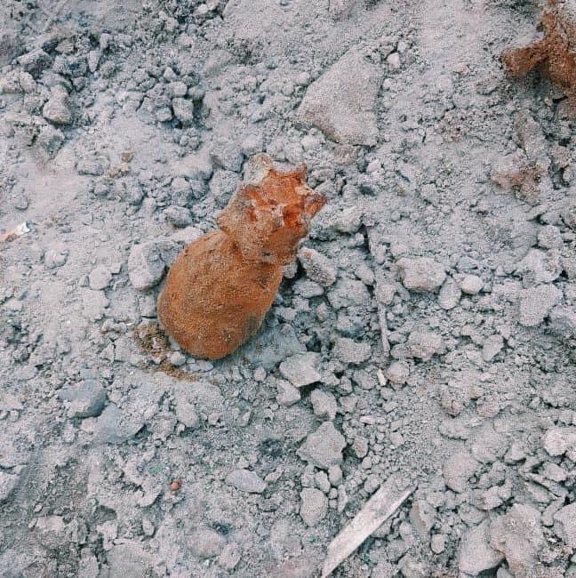 В Киеве возле рынка нашли мину: подробности и фото с места ЧП