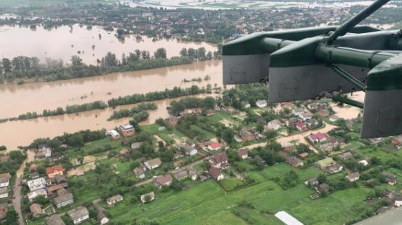 Наводнение в Западной Украине: что происходит в Ивано-Франковской области