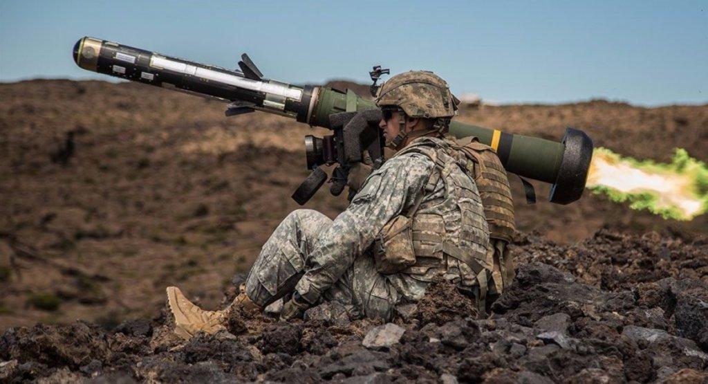 Украина получили новые ракеты Javelin от США