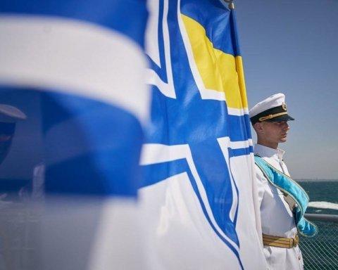 В Одесі у День ВМСУ провели військово-морський огляд і парад