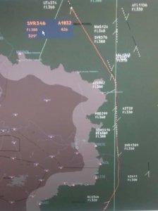 «Украэрорух» отрицает пролет российского авиалайнера над ОРДЛО