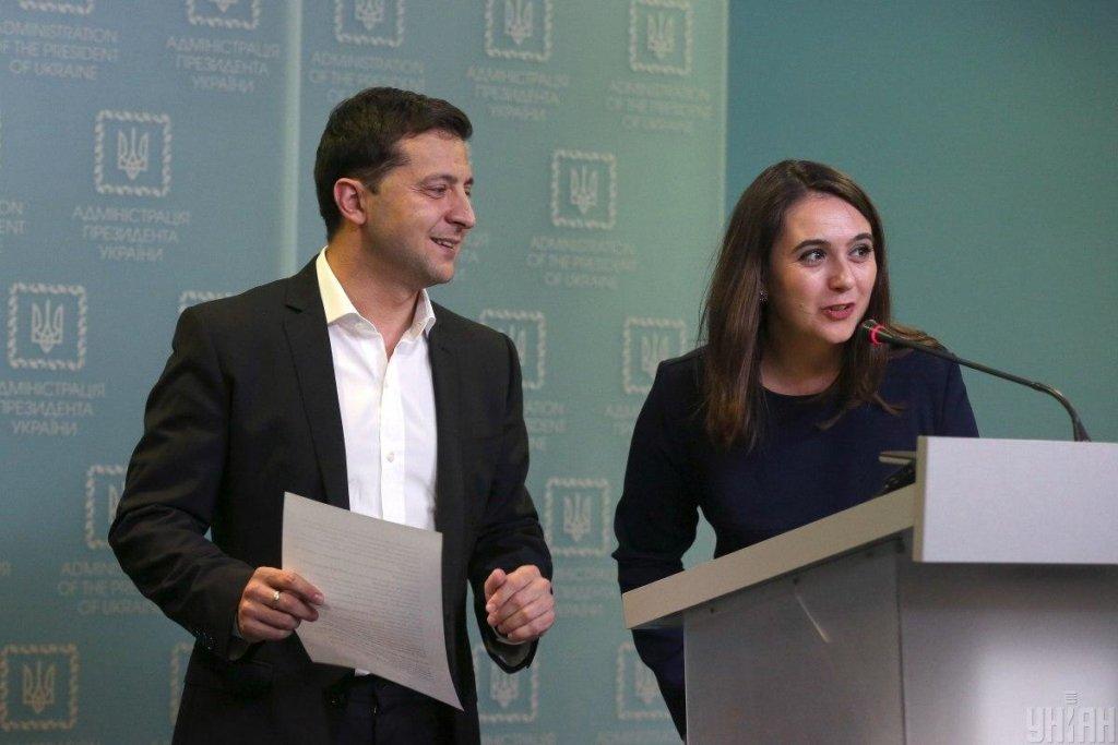 """Мендель прокоментувала чутки про """"вагітність"""" від Зеленського"""
