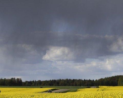 Погода в Украине: В стране объявлено штормовое предупреждение