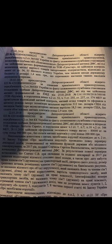 Руководителем Киевской таможни может стать известный коррупционер Сличко