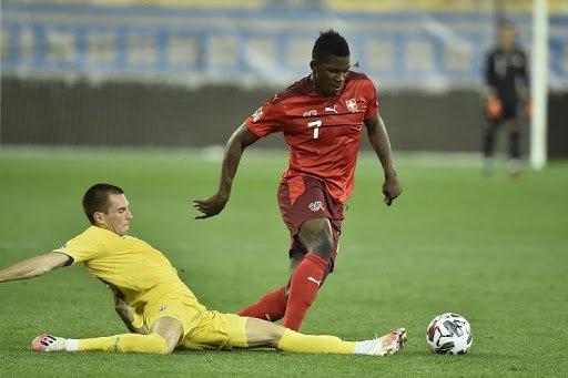 Новости футбола: в игре Украина — Швейцария определен лучший игрок