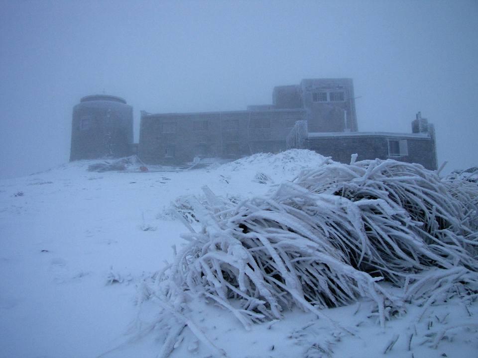 Погода: в Карпатах -2 °С і сніжна заметіль – фото