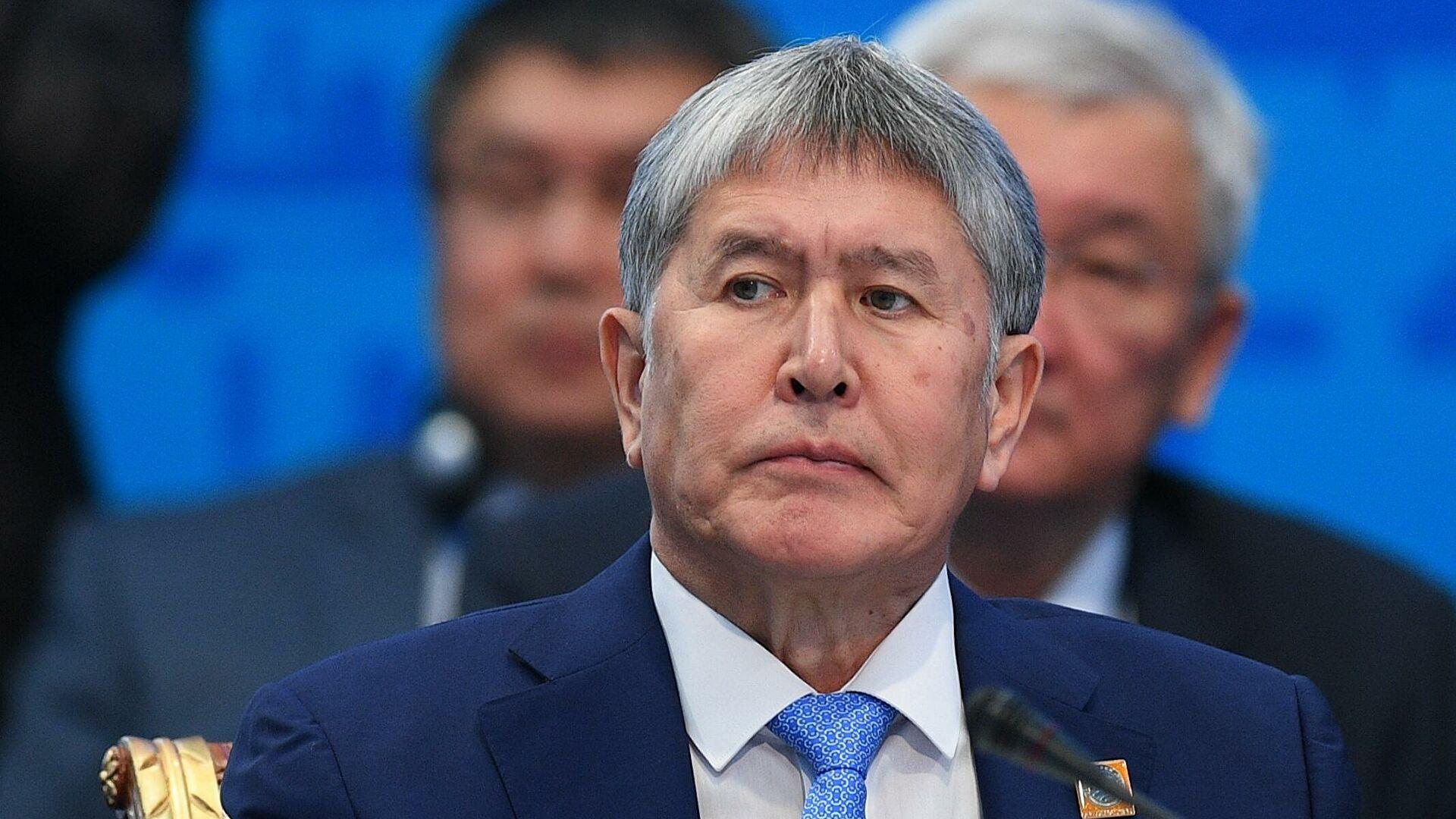 Був затриманий екс-президент Киргизії Алмазбек Атамбаєв – фото