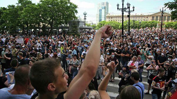 Протести в Хабаровську: жорстокий розгін мітингувальників – фото і відео