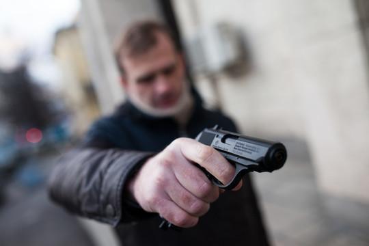 В Киеве произошла драка со стрельбой — есть раненые