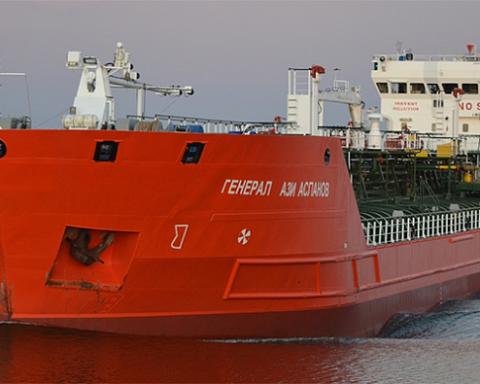 Вибухнув російський танкер в Азовському морі