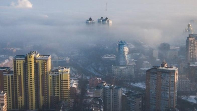 Киев находится в десятке городов с наиболее загрязненным воздухом