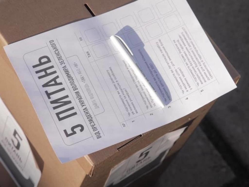 Местные выборы: опрос Зеленского проводили маленькие дети