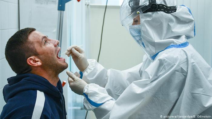 COVID-19 в Украине: более 261 тыс. новых случаев заражения на момент 11 октября
