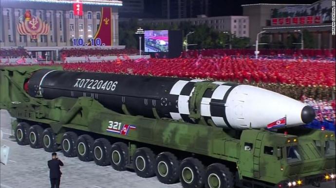 Військовий парад у КНДР привернув увагу Пентагону