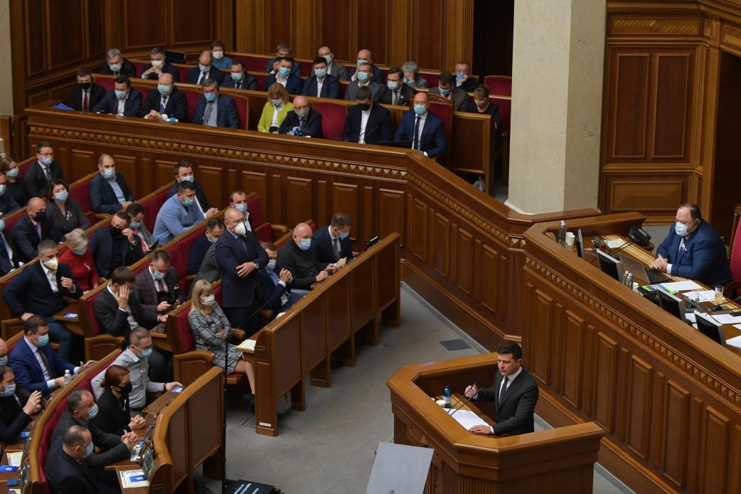 Зеленский выступил с посланием к Раде: текст выступления