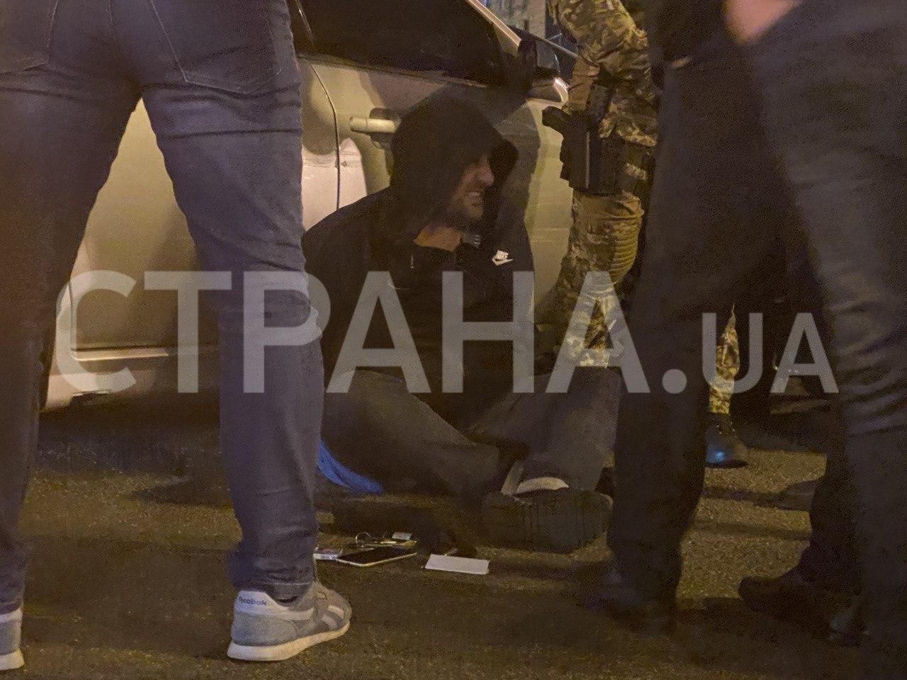 В центре Киева произошла стрельба: спецназ произвел громкое задержание