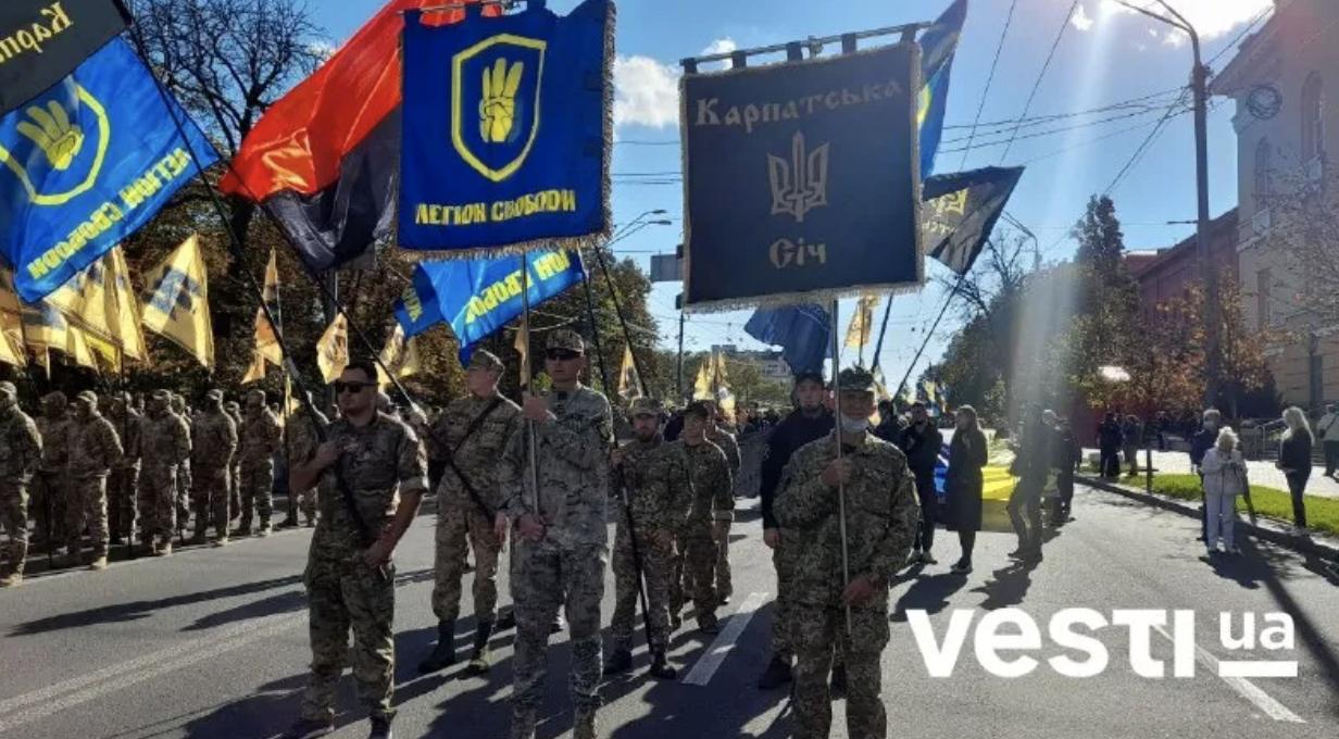 День защитника Украины: в Киеве начался масштабный митинг