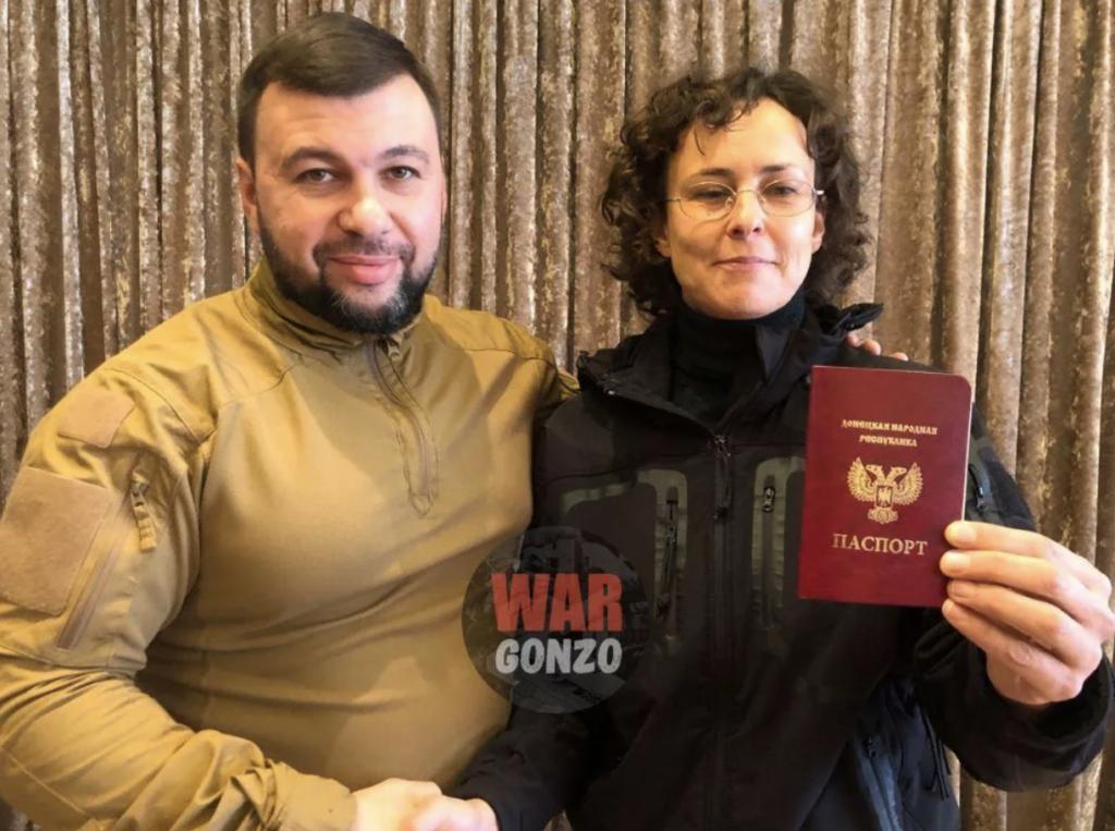 Скандальная певица Чичерина получила паспорт «ДНР» — фото
