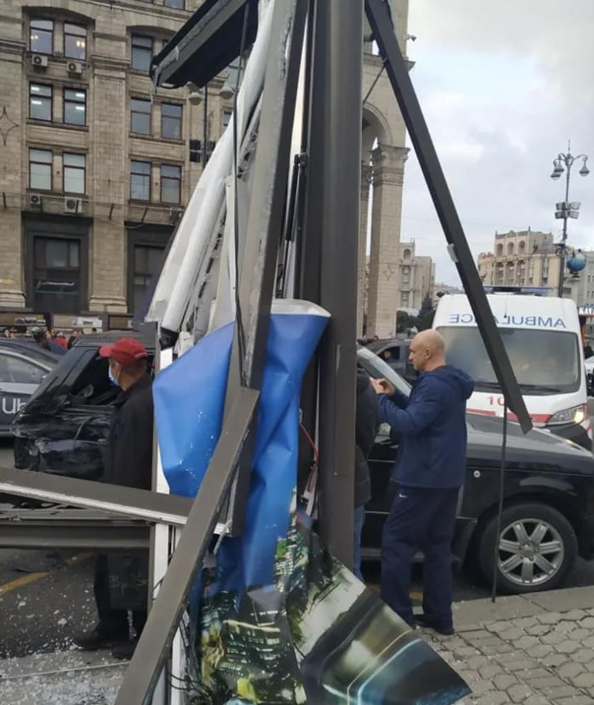Смертельна ДТП на Майдані: всі подробиці, фото і відео