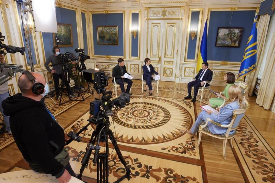 Велике інтерв'ю Зеленського: тези виступу президента