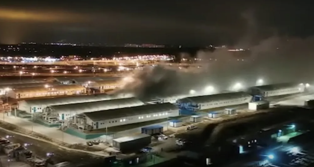 В Коммунарке произошел взрыв в больнице для пациентов с COVID-19 — фото, видео
