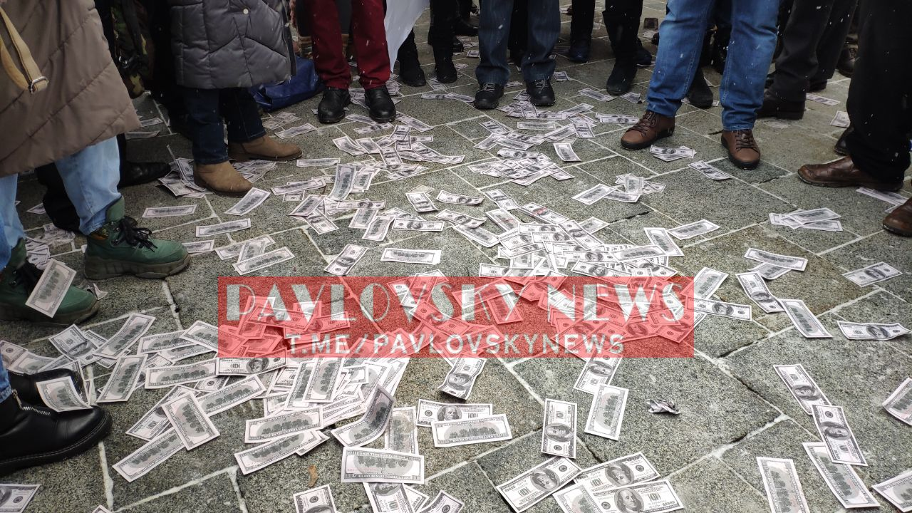 МВФ — посланники дьявола: украинцы вышли на протест под Кабмин