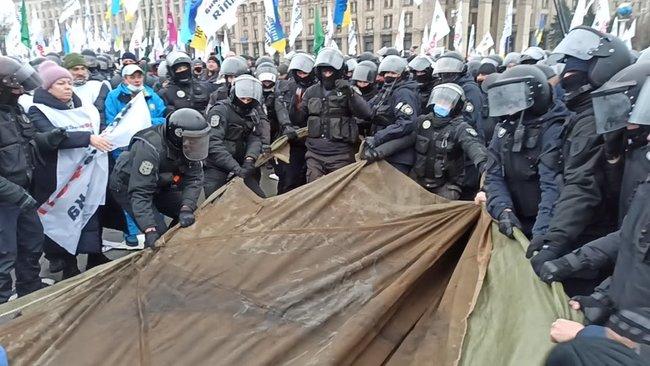 Локдаун отменять не будут:  Кабмин жестко отреагировал на протест ФОПов в Киеве