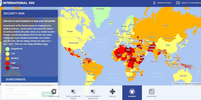 Названі найбезпечніші країни для туристів