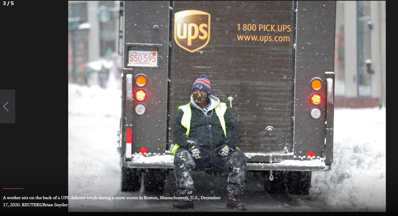На США обрушилися потужні снігопади: з'явилися приголомшливі кадри