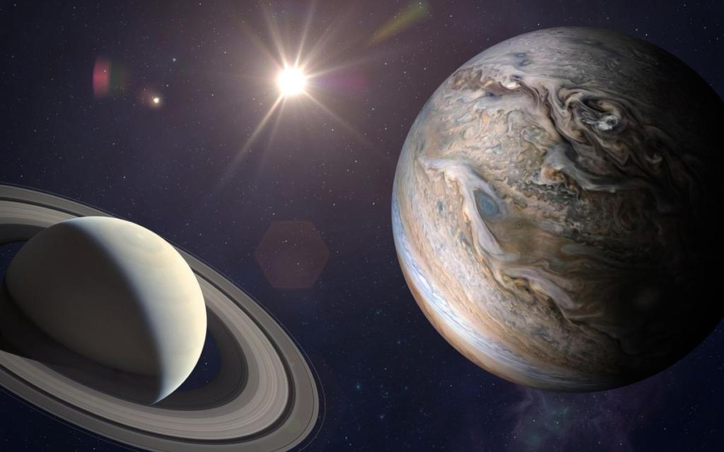Віфлеємська зірка: Юпітер і Сатурн вперше за 400 років зблизяться на мінімальну відстань