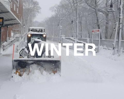 Синоптик повідомила, коли на півдні припиняться снігопади з вітром