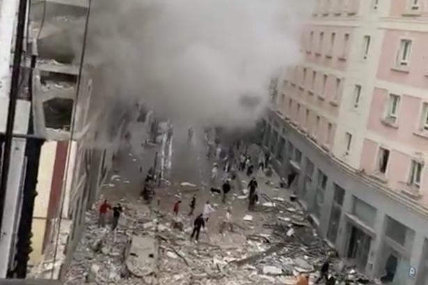 В центре Мадрида прогремел мощный взрыв, много пострадавших — видео