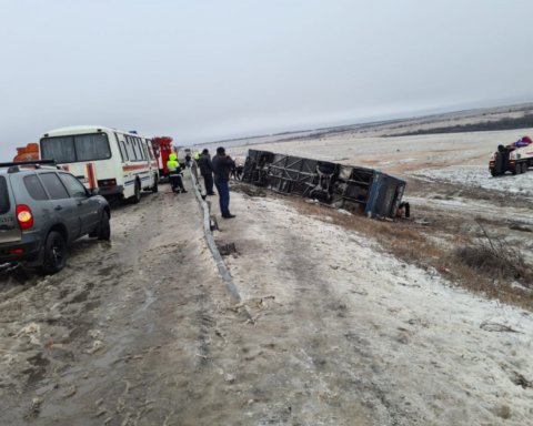 Автобус з українцями перекинувся в Росії, є загиблі: фото