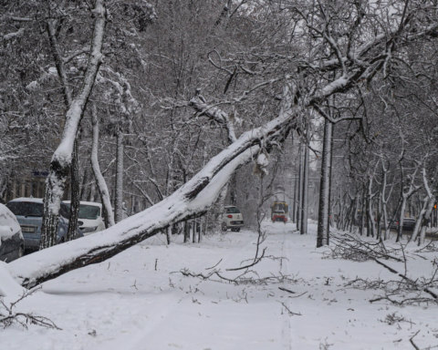 """Трасу """"Одеса-Київ"""" повністю перекрили: сніг чистять усі, хто може"""