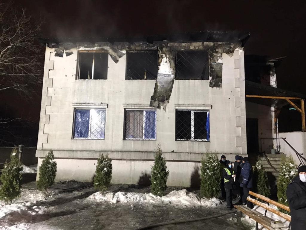 Пожежа в будинку для літніх людей у Харкові: у 2020 році там померли понад 50 осіб
