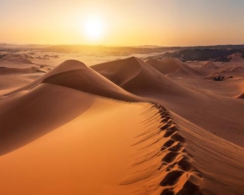 Сахару засипало снігом: вражаючі фото