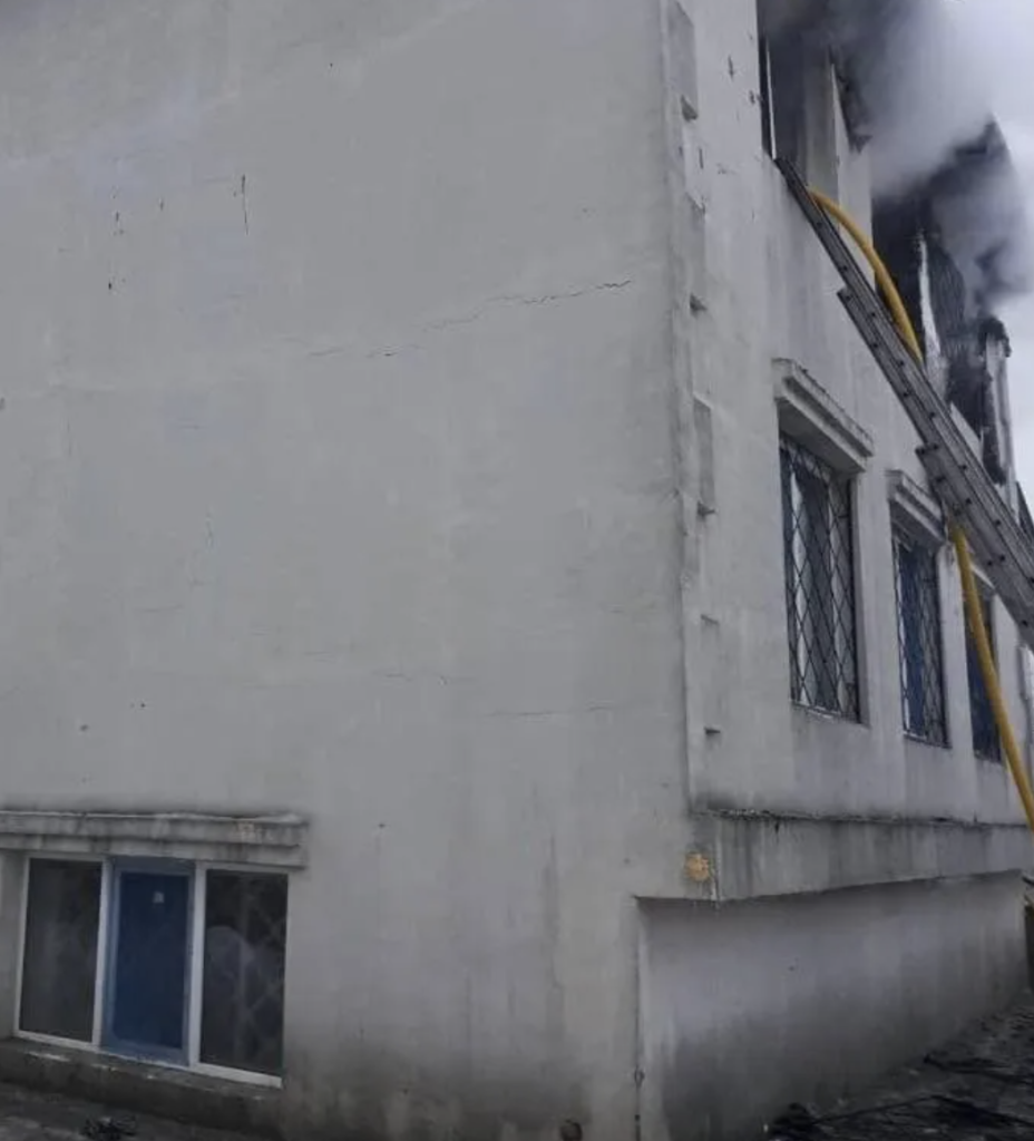 Смертельный пожар в доме престарелых в Харькове: новые подробности и видео
