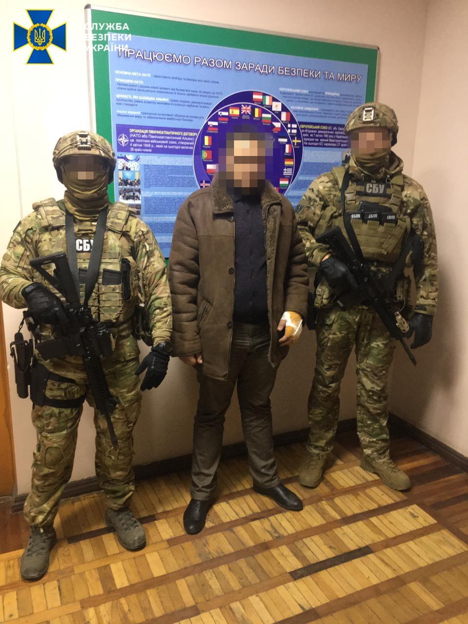 Под Одессой СБУ задержала шпиона из «ЛНР»