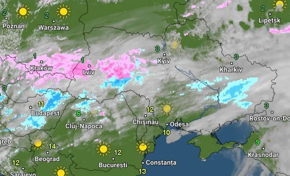 Україну почало засипати снігом: де вже зіпсувалася погода
