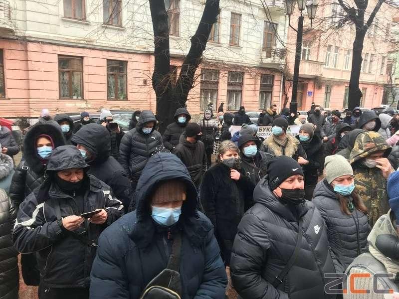Чернівецька та Івано-Франківська області вийшли на протест проти карантину