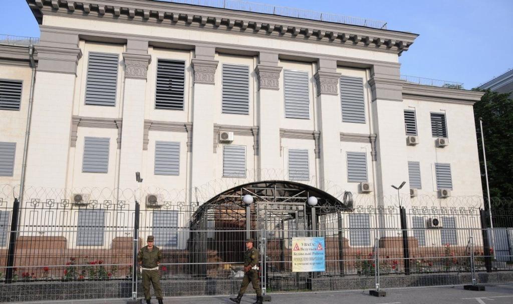 МЗС України оголосив співробітника російського посольства в Києві персоною нон-грата