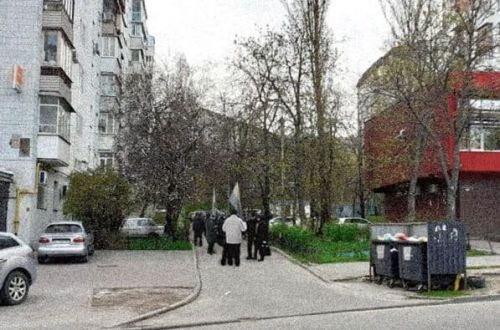 У здания российского спецагента Кулинича на Печерске прошла акция протеста — СМИ