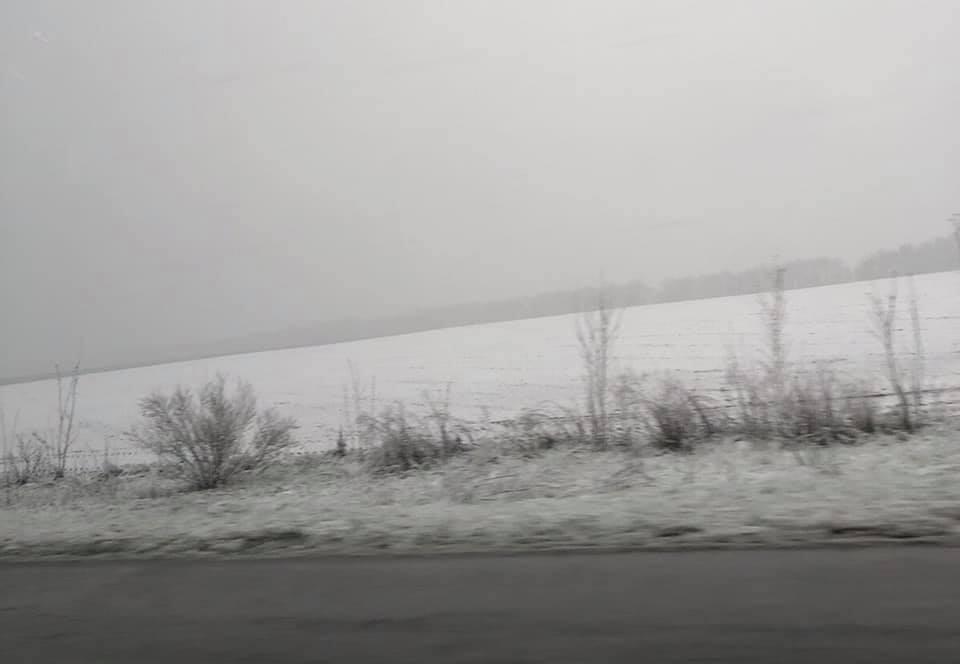 Одразу кілька областей України засипало снігом